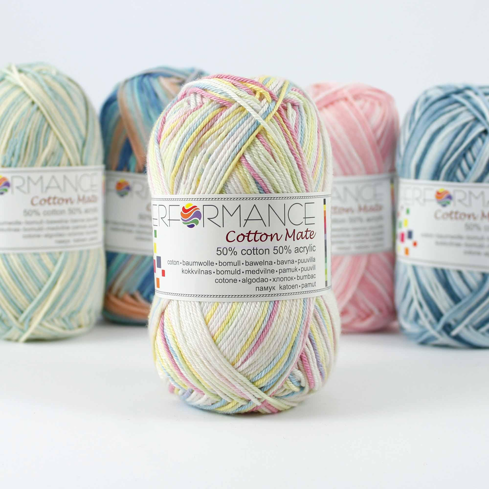 Cotton Mate Multi 12402